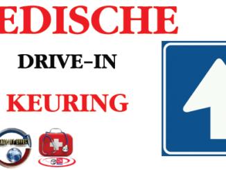 DRIVE IN MEDISCHE KEURINGEN