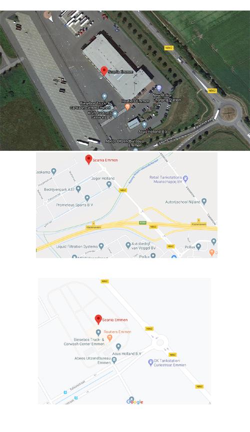 Locatie Emmen