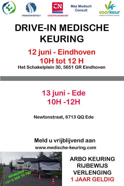 medische keuring ede en Eindhoven