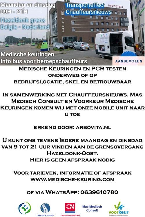 Medische keuringen en pcr testen